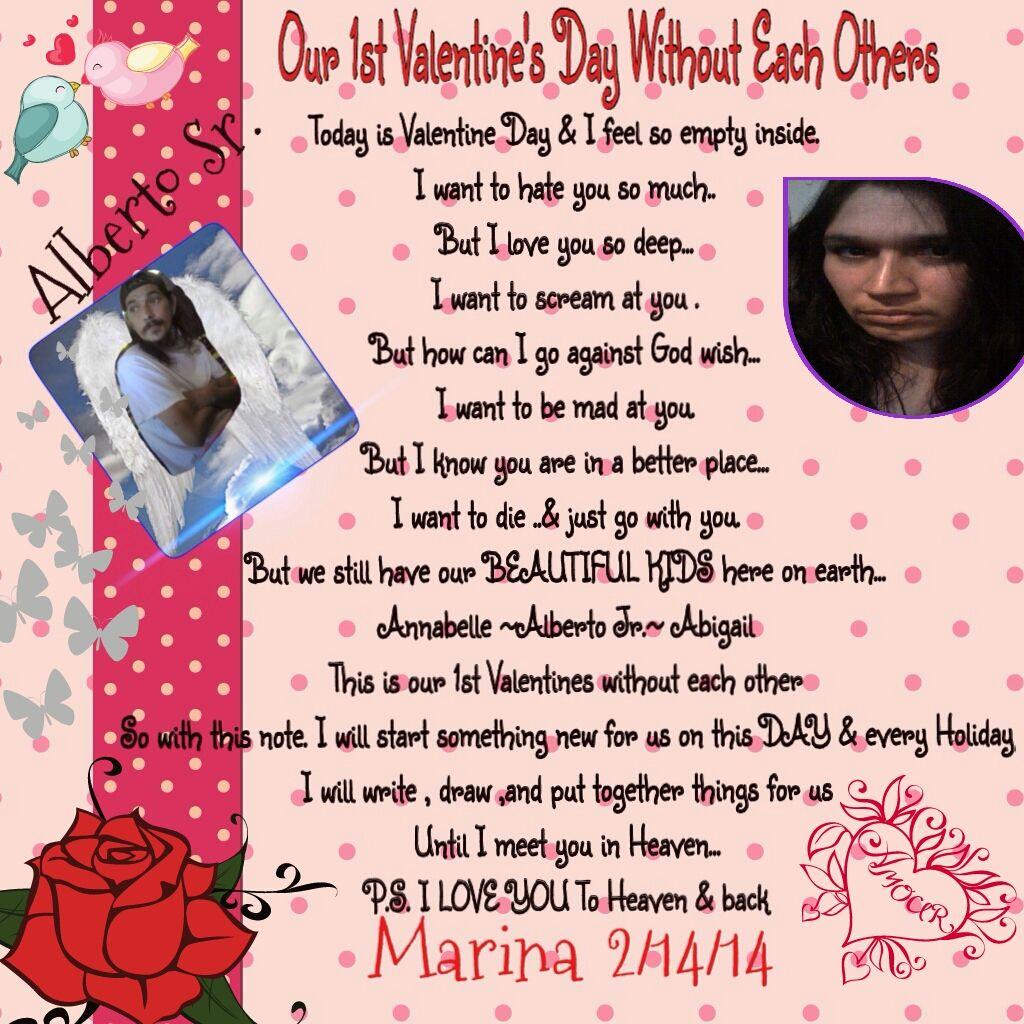 Love Each Other Or Perish: Here I Write To U Alberto Sr. My Valentine PoemOur 1st