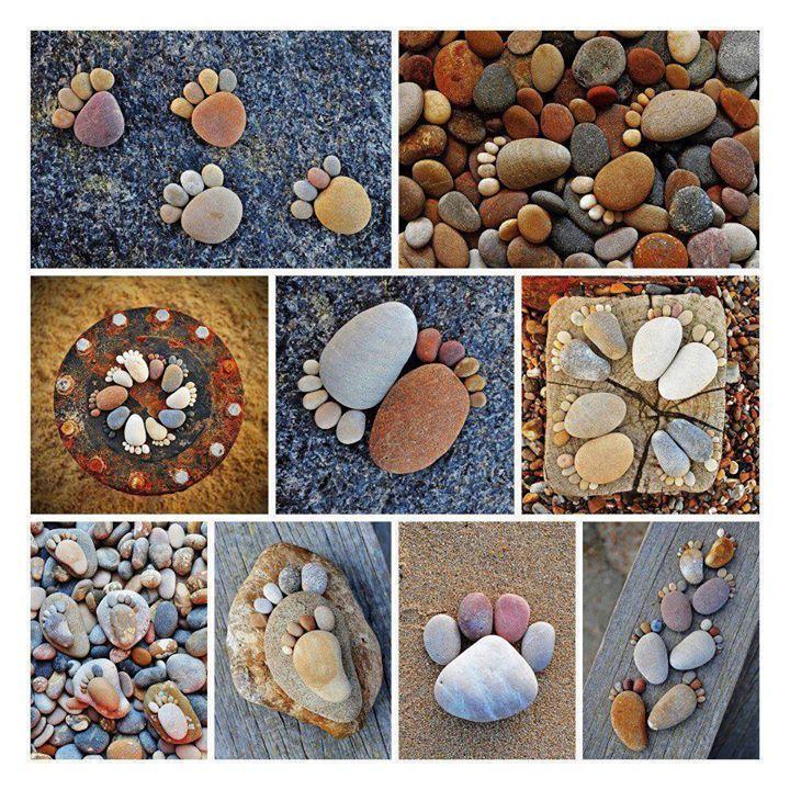 Поделки своими руками из морских камней и ракушек