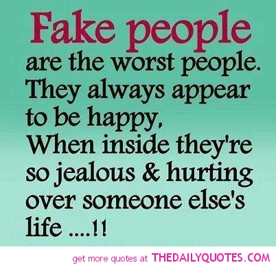 quotes about fake girls Quotes