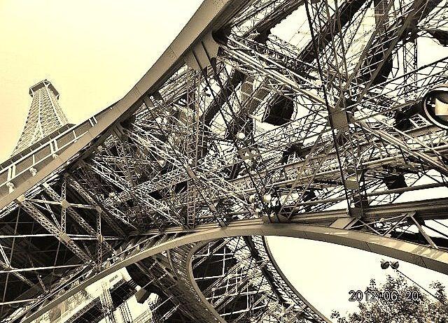 Belleza arquitectonica: Torre Eiffel
