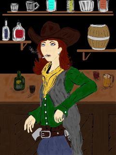 drawing dccowboy
