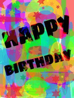 gdbirthdaycard collage colorful birthday color splash