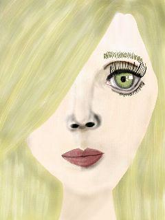 drawing women portrait