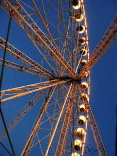 photography travel enhanted rides ferriswheel