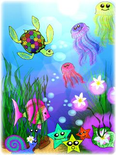 colorful emotions pets & animals nature pencil art cute