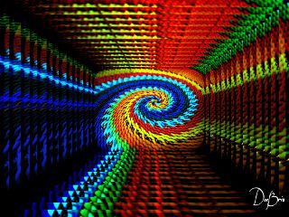 photography waprepeatedimage spiral rainbowcolors