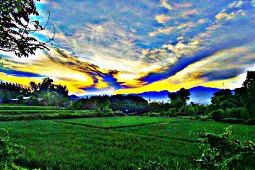 travel photography sun hdr nature