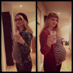 people emotions pregnant baby selfie