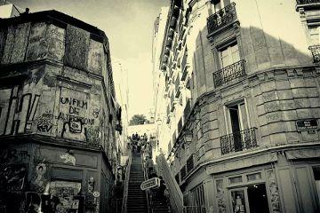 black & white montmartre paris photography quotes & sayings autumn