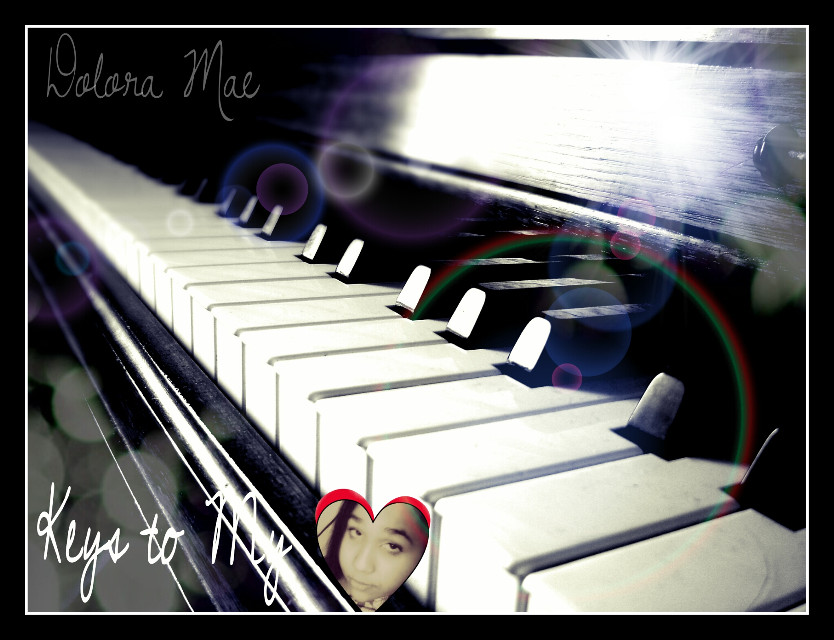 music has the keys to my heart :) vote & I'll return the favor!