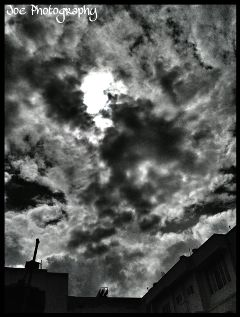 hdr clouds quotes & sayings photostory retro abstract