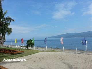beach summer philippines batangas swimming nature
