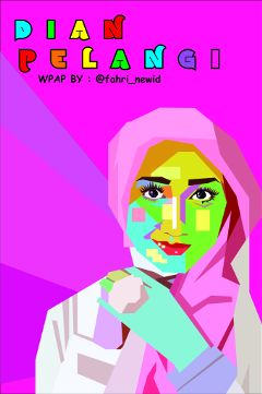 colorful cute emotions popart wpap