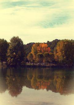 lake reflection photostory nature autumn