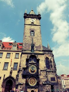watch prague oldtown tower travel bells