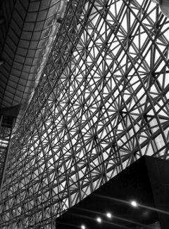 korea black & white architecture photostory abstract