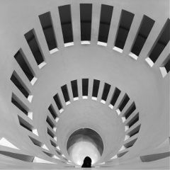 korea black & white architecture people love