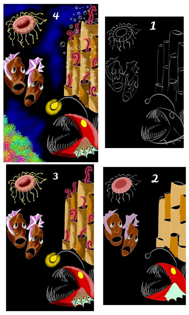 my drawing steps *
