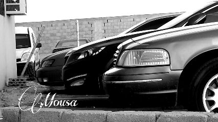 cars black & white